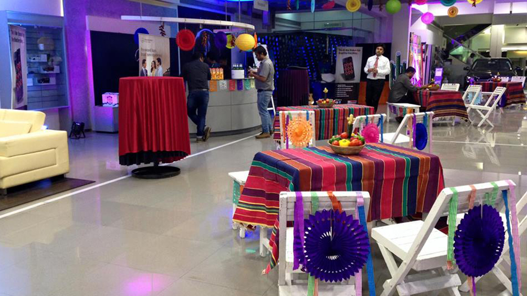 Mexican Theme for corporate event
